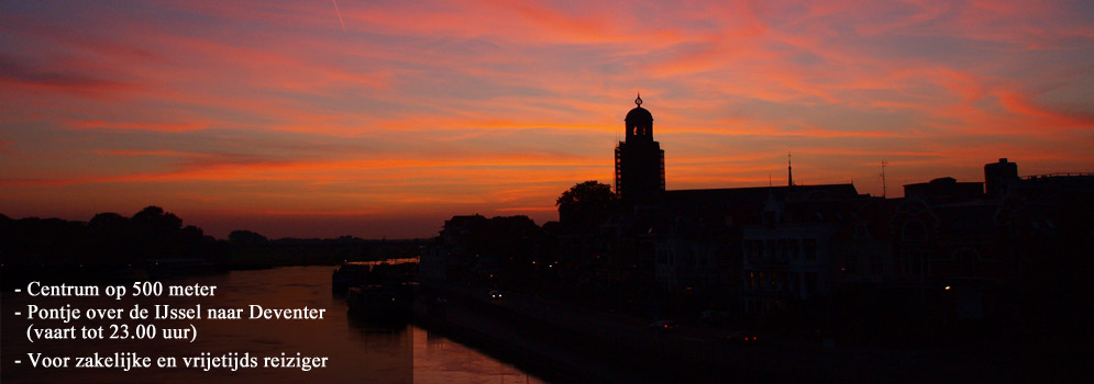 Deventer Avondrood Bed and breakfast