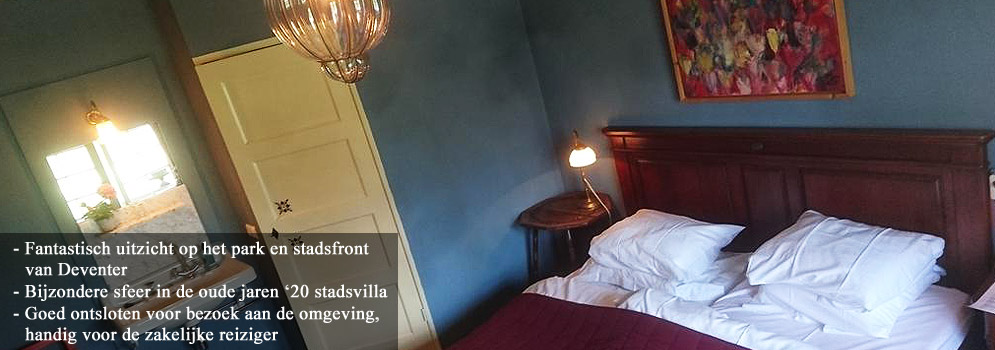 Boutique Bed and Breakfast Deventer